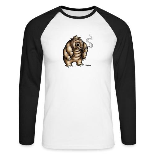 Smokey the Water Bear - Men's Long Sleeve Baseball T-Shirt