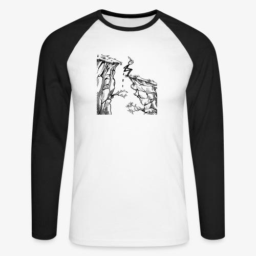 Schluchtenscheisser - Männer Baseballshirt langarm