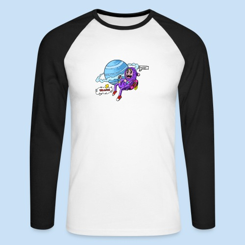 Prepare Uranus - Männer Baseballshirt langarm
