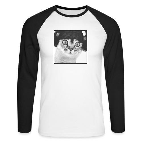 DJ CHAT - T-shirt baseball manches longues Homme