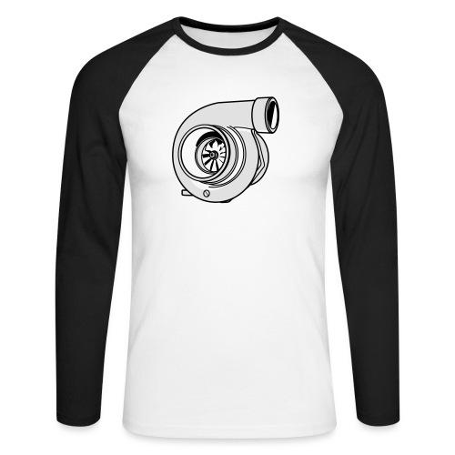 Turbo G - T-shirt baseball manches longues Homme