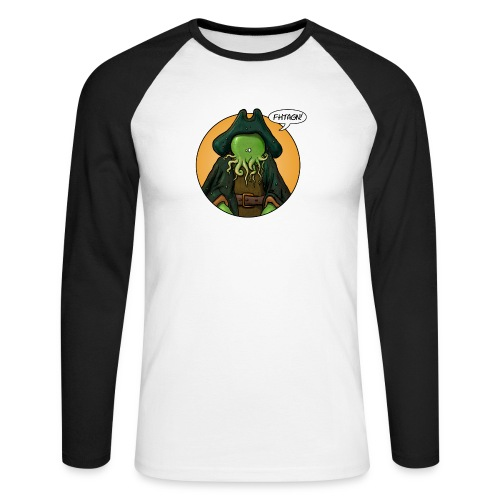 Cthulhoo Davy - T-shirt baseball manches longues Homme