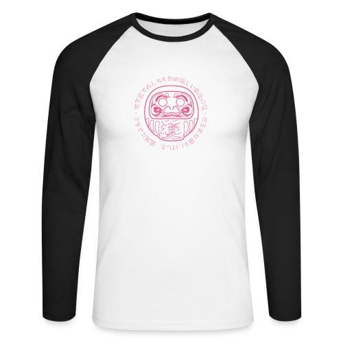 Daruma poupée - T-shirt baseball manches longues Homme