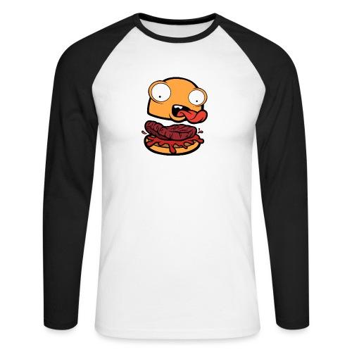 Crazy Burger - Raglán manga larga hombre