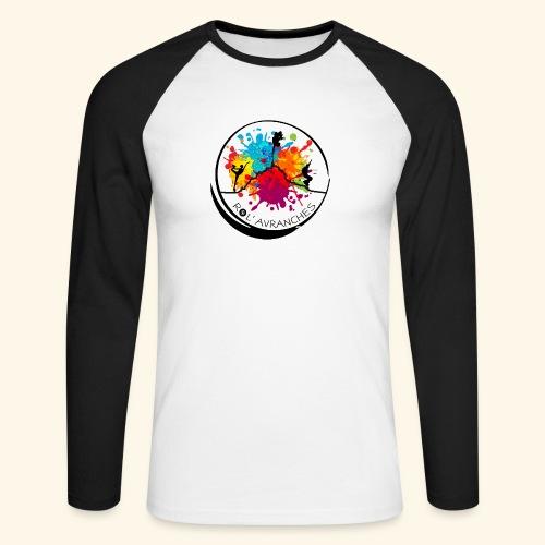 Logo Transparent Av+Ar - T-shirt baseball manches longues Homme