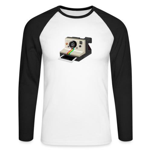 Polaroid 1000 kawaii - T-shirt baseball manches longues Homme