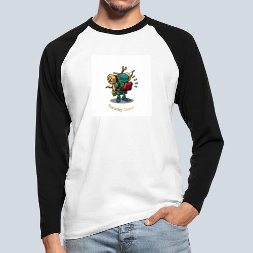 Tuesday Quest Logo - T-shirt baseball manches longues Homme