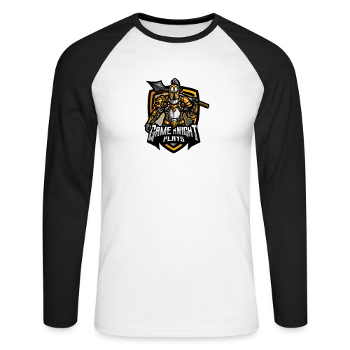 Game kNight Plays - aMACEing - Men's Long Sleeve Baseball T-Shirt