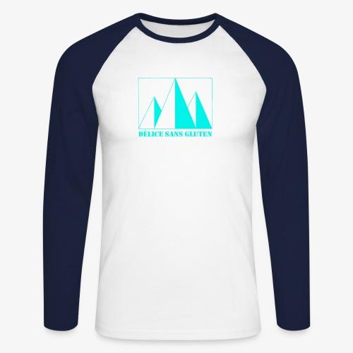 Snow Mountain ! Délice sans gluten - Men's Long Sleeve Baseball T-Shirt