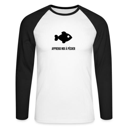 POISSON - Männer Baseballshirt langarm