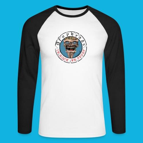 drophead aufkleber - Männer Baseballshirt langarm