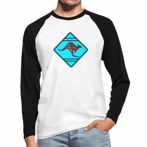 Känguru, Kangooru - Männer Baseballshirt langarm