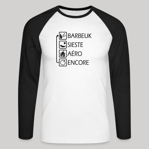 FPV evolution - T-shirt baseball manches longues Homme