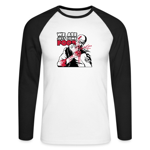 eating_zombie - T-shirt baseball manches longues Homme
