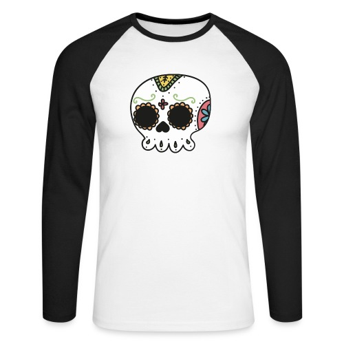 day of the death - Männer Baseballshirt langarm