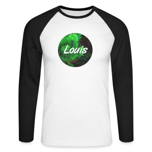 Louis round-logo - Männer Baseballshirt langarm