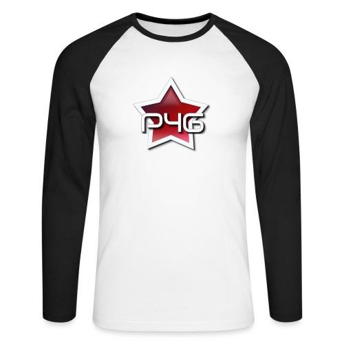 logo P4G 2 5 - T-shirt baseball manches longues Homme