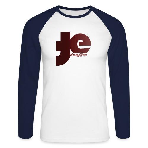 company logo - Men's Long Sleeve Baseball T-Shirt