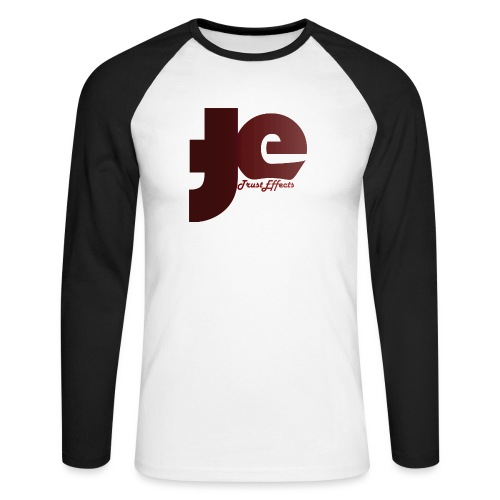 company logo - Men's Long Sleeve Baseball T-Shirt