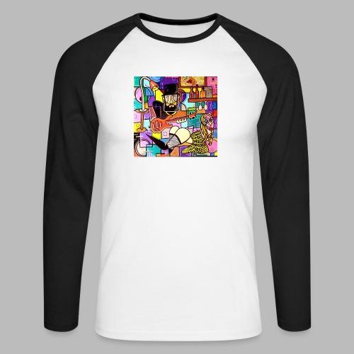 Vunky Vresh Vantastic - Mannen baseballshirt lange mouw