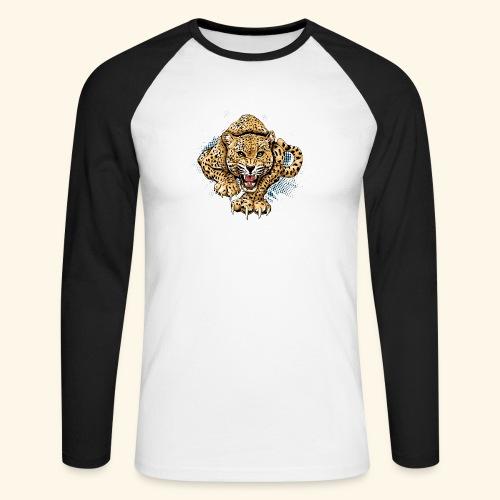 Leopardo KutuXa - Raglán manga larga hombre