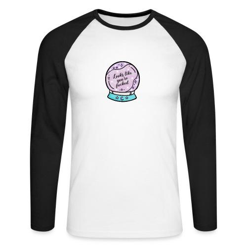 2020 Worst Year Ever Psychic - Men's Long Sleeve Baseball T-Shirt