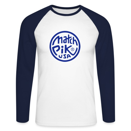 Scott Pilgrim s Match Pik - Men's Long Sleeve Baseball T-Shirt