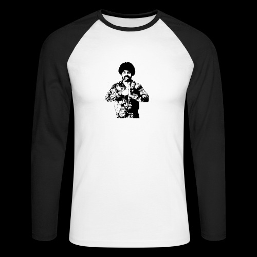 san diego brown - Men's Long Sleeve Baseball T-Shirt