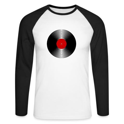 LP Vinyl - Men's Long Sleeve Baseball T-Shirt
