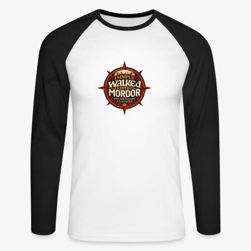 I just went into Mordor - Men's Long Sleeve Baseball T-Shirt