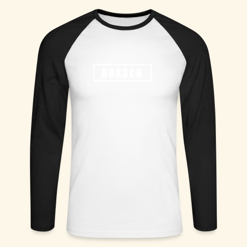 Borsch - Langærmet herre-baseballshirt