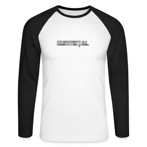 Gunmetal - Men's Long Sleeve Baseball T-Shirt