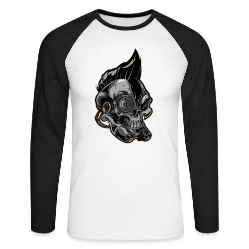 Nareku logo - Men's Long Sleeve Baseball T-Shirt