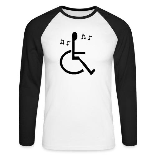 Musical Chairs - Men's Long Sleeve Baseball T-Shirt