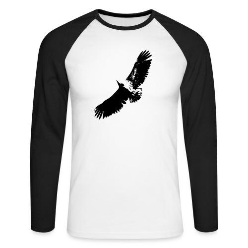Fly like an eagle - Männer Baseballshirt langarm
