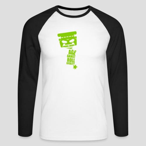 Rage against Trolls - T-shirt baseball manches longues Homme