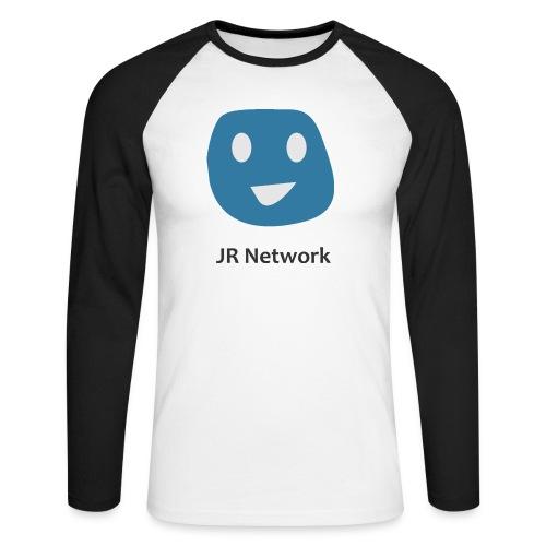 JR Network - Men's Long Sleeve Baseball T-Shirt