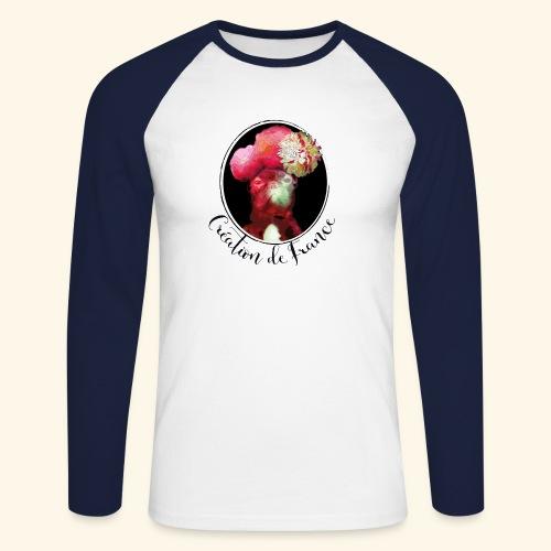 Création de France - T-shirt baseball manches longues Homme