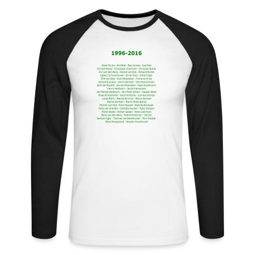 tekening4 - Mannen baseballshirt lange mouw