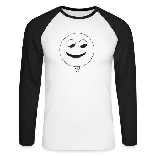 Janic Shop - Männer Baseballshirt langarm