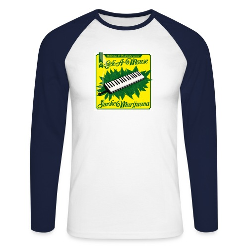 Smoke Marijuana - Men's Long Sleeve Baseball T-Shirt