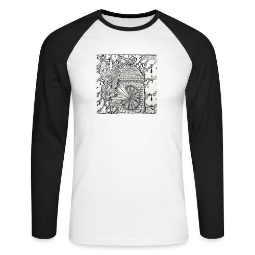 Brain Ache - Men's Long Sleeve Baseball T-Shirt