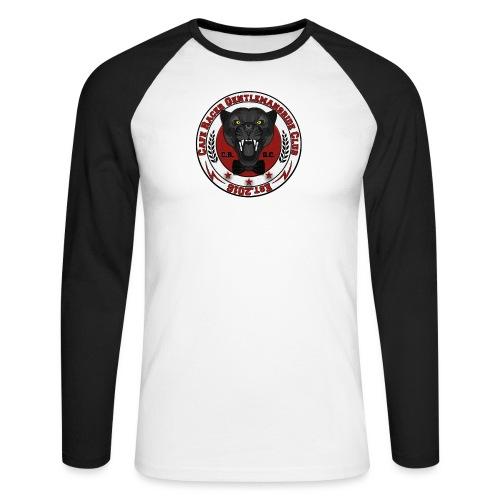 logopanthercrfcnew - Men's Long Sleeve Baseball T-Shirt