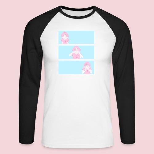 I like you! - Men's Long Sleeve Baseball T-Shirt