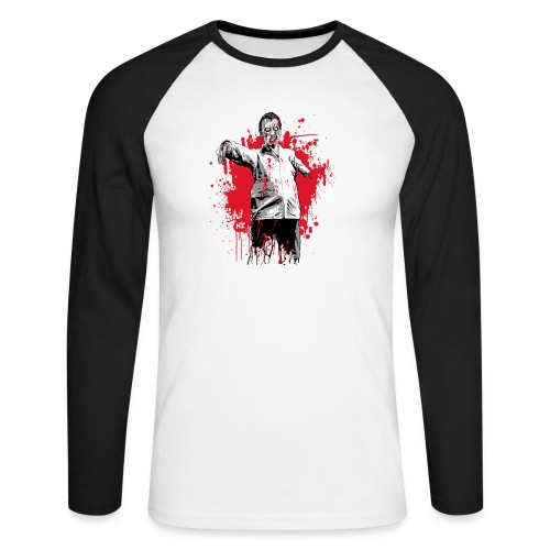 zombie - T-shirt baseball manches longues Homme
