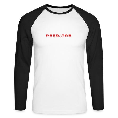 Predator target - Men's Long Sleeve Baseball T-Shirt