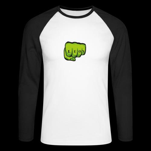 Leon Fist Merchandise - Men's Long Sleeve Baseball T-Shirt