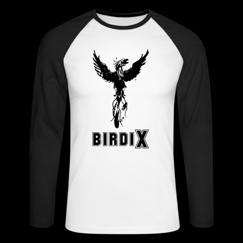 LOGO birdix 30x35cm - T-shirt baseball manches longues Homme