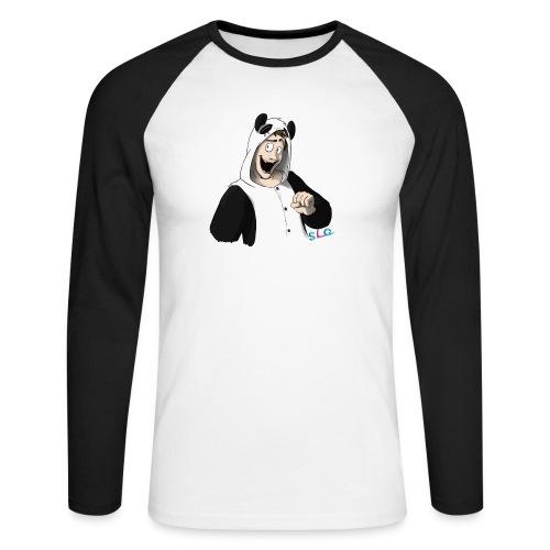 Panda - Tee shirt manches longues Premium Femme - T-shirt baseball manches longues Homme