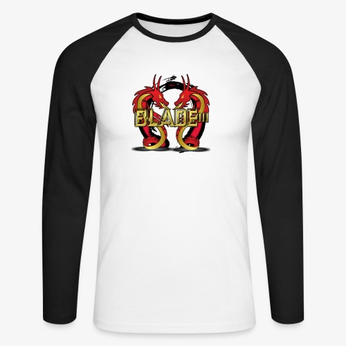Blade - Men's Long Sleeve Baseball T-Shirt